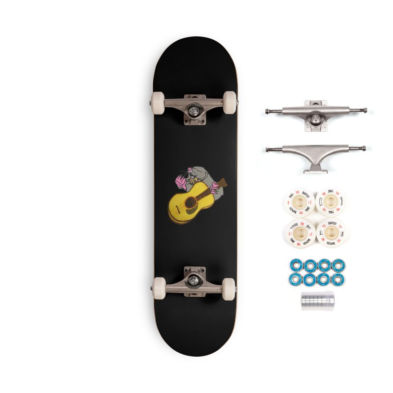 Mole in the Ground Accessories Complete - Premium Skateboard by jackrabbithollow's Artist Shop