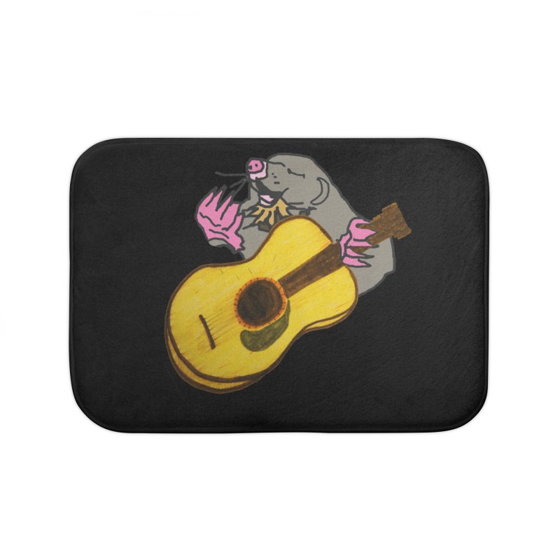 Mole in the Ground Home Bath Mat by jackrabbithollow's Artist Shop