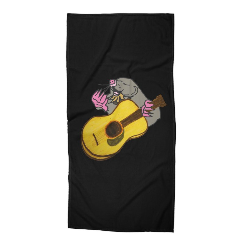 Mole in the Ground Accessories Beach Towel by jackrabbithollow's Artist Shop