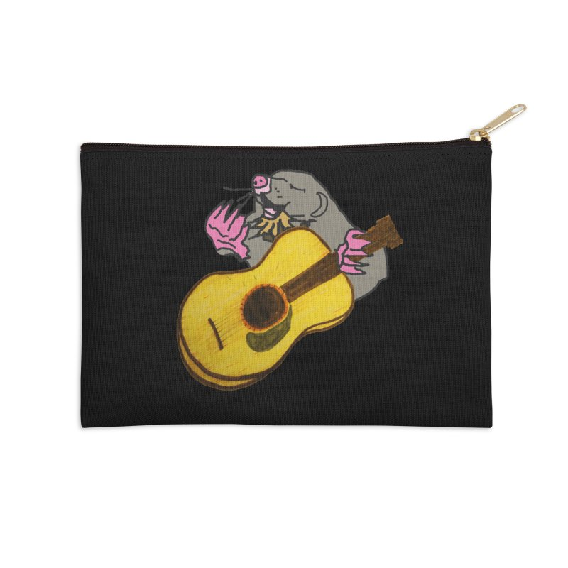 Mole in the Ground Accessories Zip Pouch by jackrabbithollow's Artist Shop