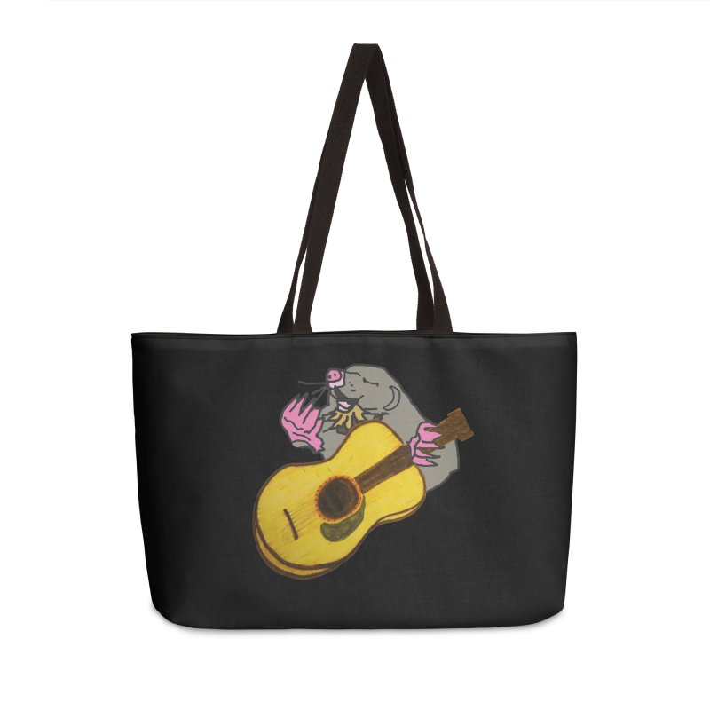 Mole in the Ground Accessories Weekender Bag Bag by jackrabbithollow's Artist Shop