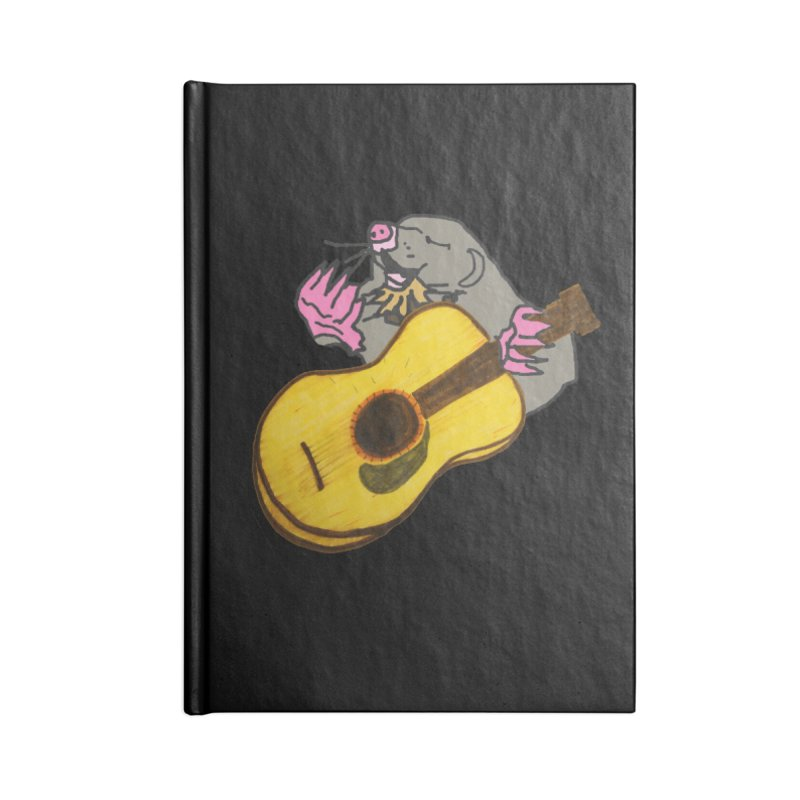 Mole in the Ground Accessories Lined Journal Notebook by jackrabbithollow's Artist Shop