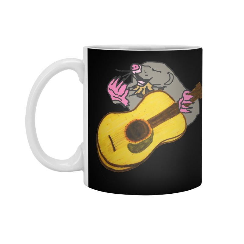 Mole in the Ground Accessories Standard Mug by jackrabbithollow's Artist Shop