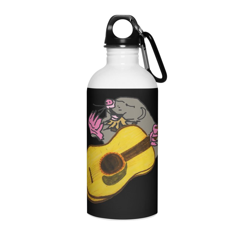 Mole in the Ground Accessories Water Bottle by jackrabbithollow's Artist Shop