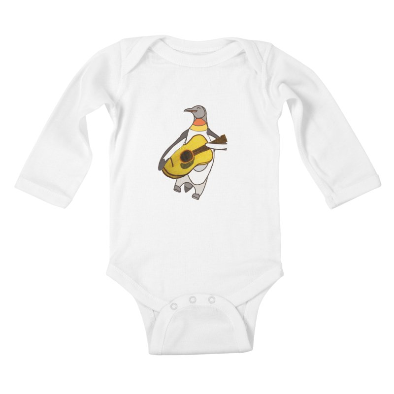 JAMGUIN Kids Baby Longsleeve Bodysuit by jackrabbithollow's Artist Shop