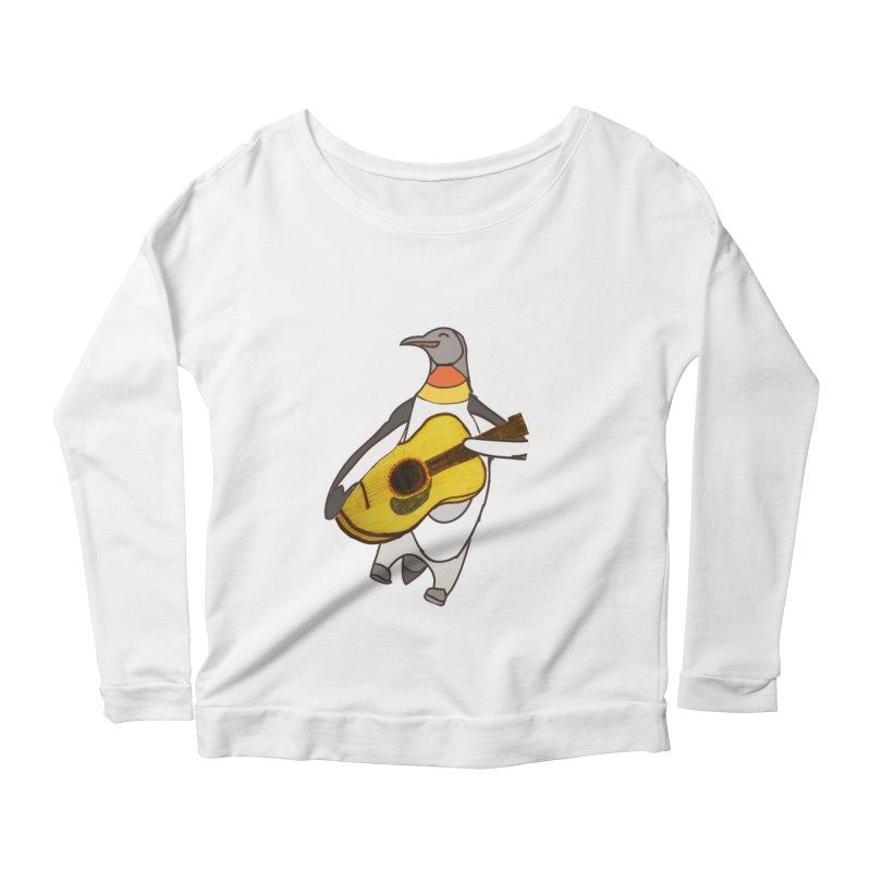 JAMGUIN Women's Scoop Neck Longsleeve T-Shirt by jackrabbithollow's Artist Shop