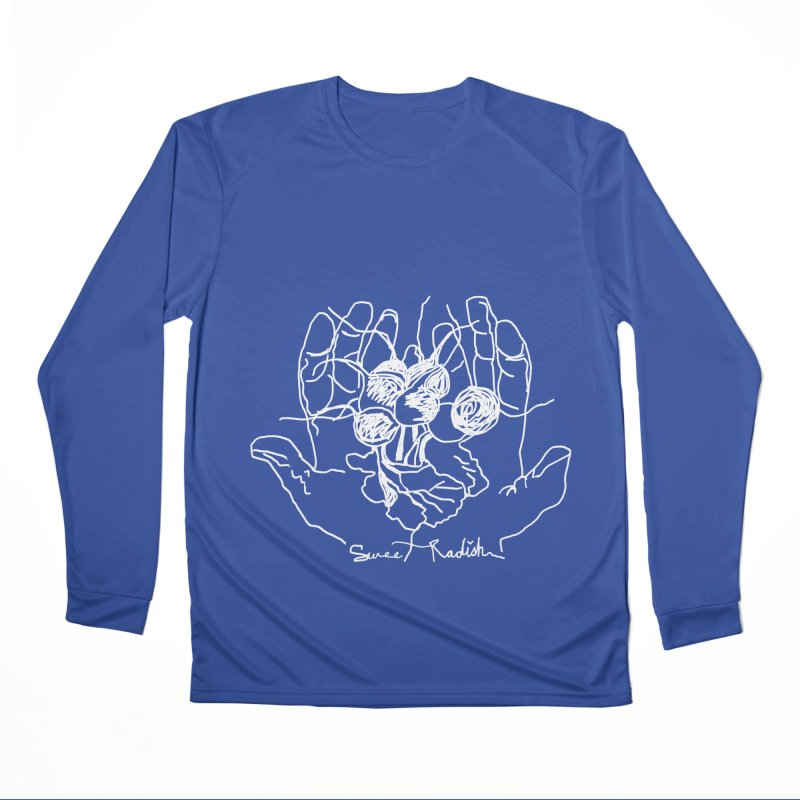 RADISH HANDS Men's Performance Longsleeve T-Shirt by jackrabbithollow's Artist Shop
