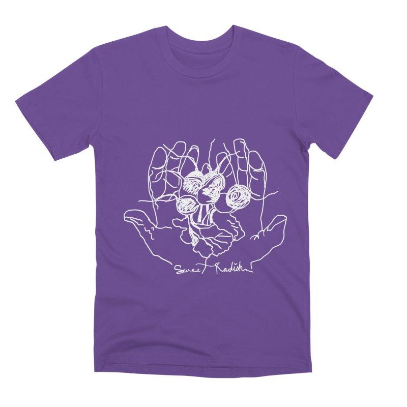 RADISH HANDS Men's Premium T-Shirt by jackrabbithollow's Artist Shop