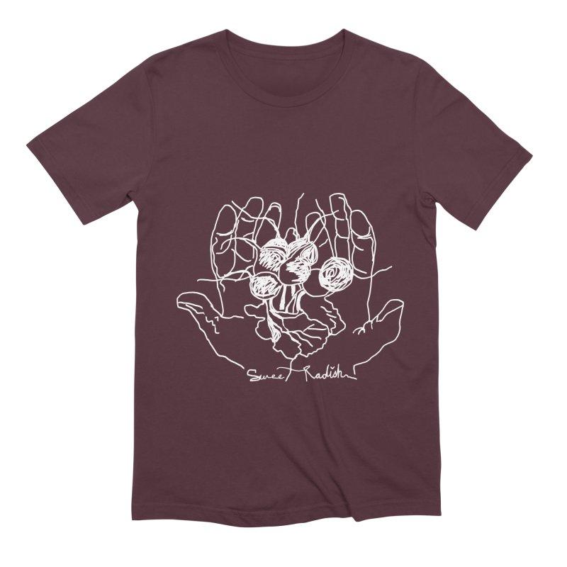 RADISH HANDS Men's Extra Soft T-Shirt by jackrabbithollow's Artist Shop