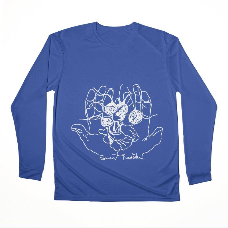 RADISH HANDS Women's Performance Unisex Longsleeve T-Shirt by jackrabbithollow's Artist Shop
