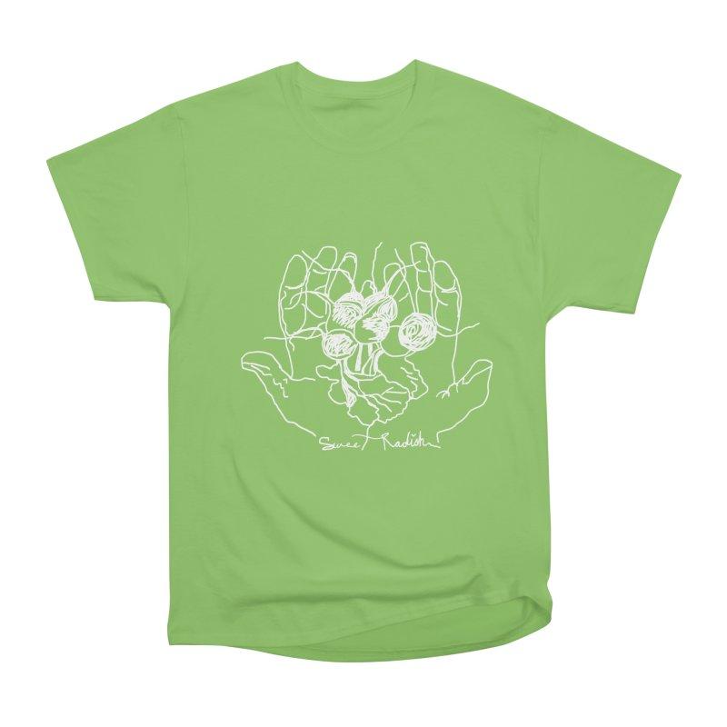RADISH HANDS Men's Heavyweight T-Shirt by jackrabbithollow's Artist Shop