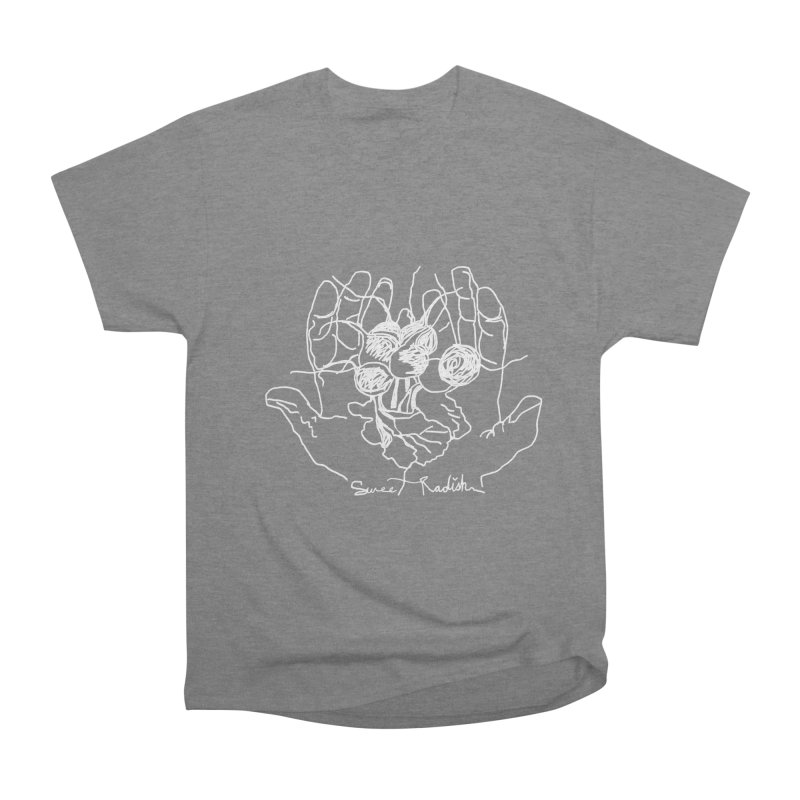 RADISH HANDS Women's T-Shirt by jackrabbithollow's Artist Shop
