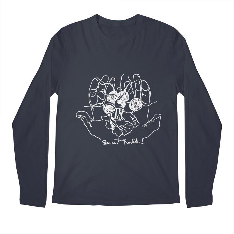 RADISH HANDS Men's Regular Longsleeve T-Shirt by jackrabbithollow's Artist Shop