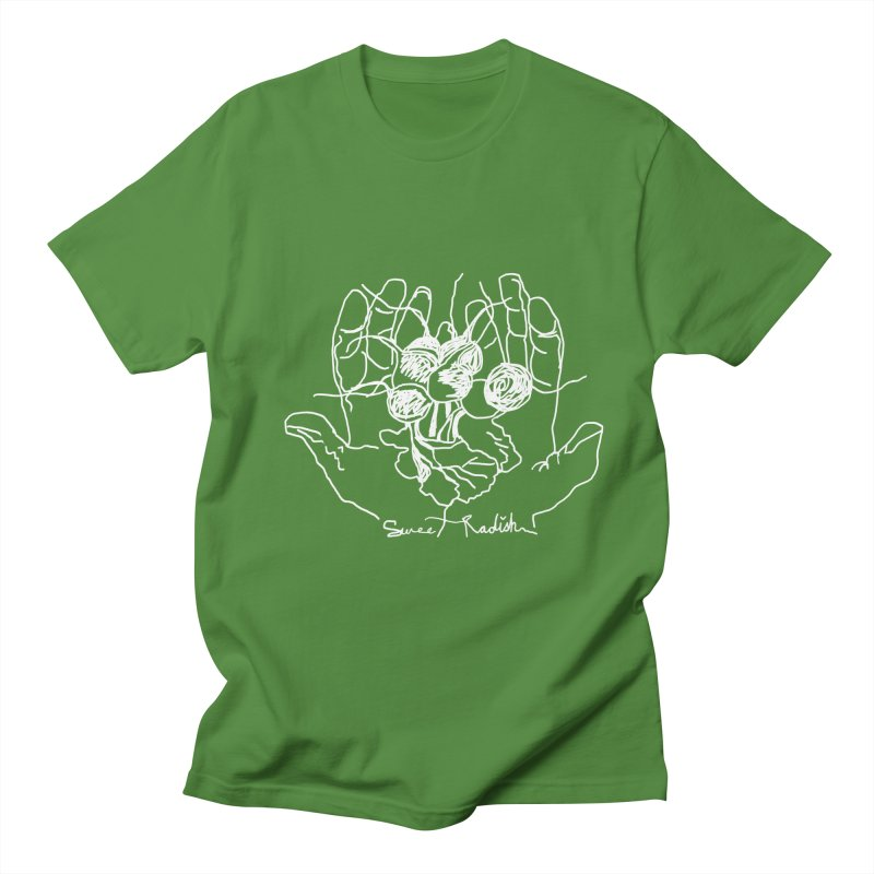 RADISH HANDS Men's T-Shirt by jackrabbithollow's Artist Shop