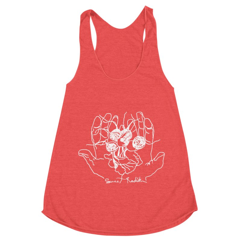 RADISH HANDS Women's Tank by jackrabbithollow's Artist Shop