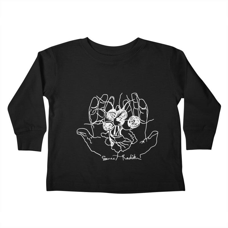 RADISH HANDS Kids Toddler Longsleeve T-Shirt by jackrabbithollow's Artist Shop