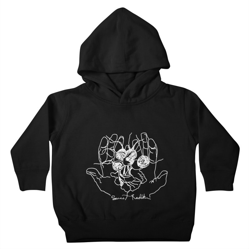 RADISH HANDS Kids Toddler Pullover Hoody by jackrabbithollow's Artist Shop