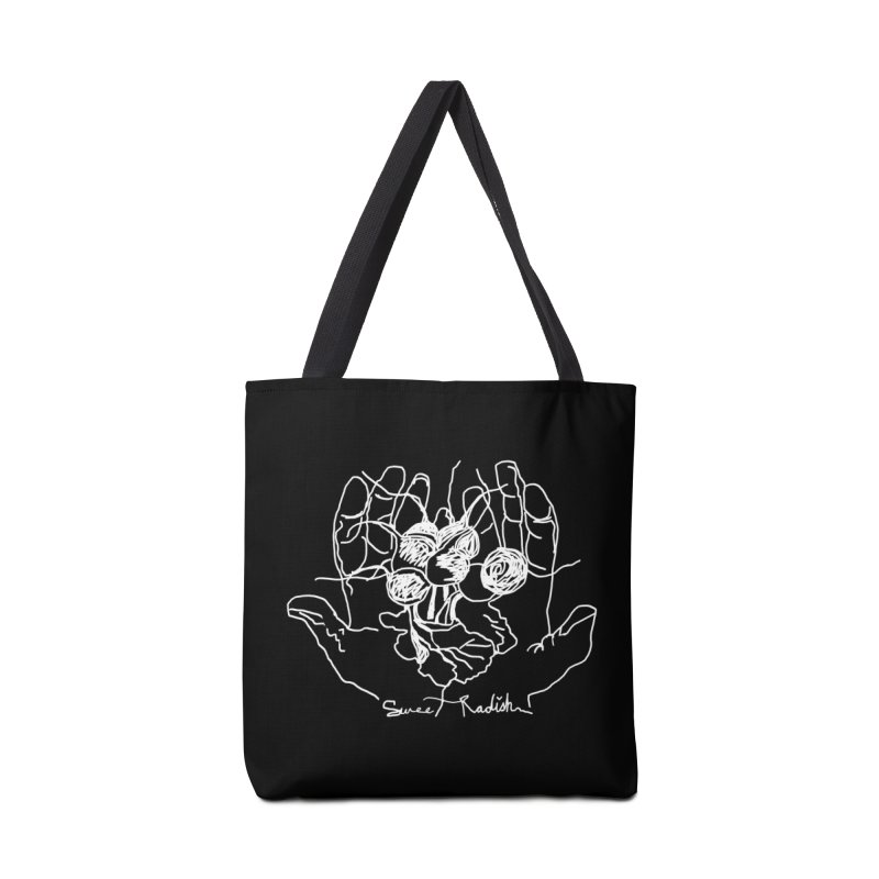 RADISH HANDS Accessories Bag by jackrabbithollow's Artist Shop