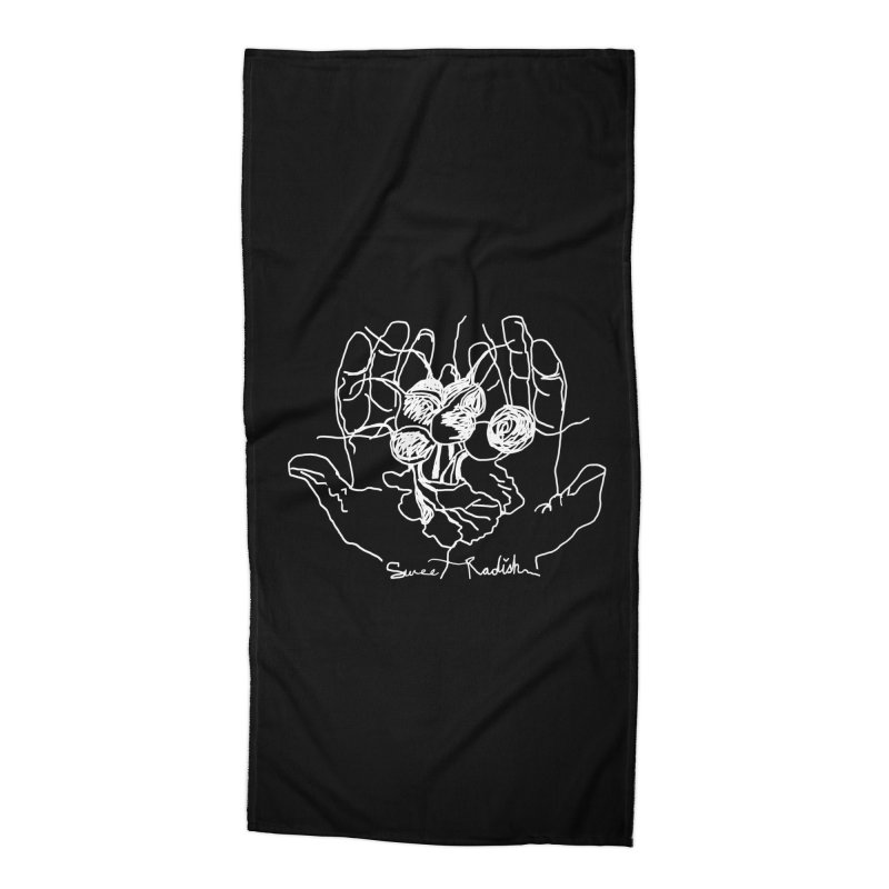 RADISH HANDS Accessories Beach Towel by jackrabbithollow's Artist Shop