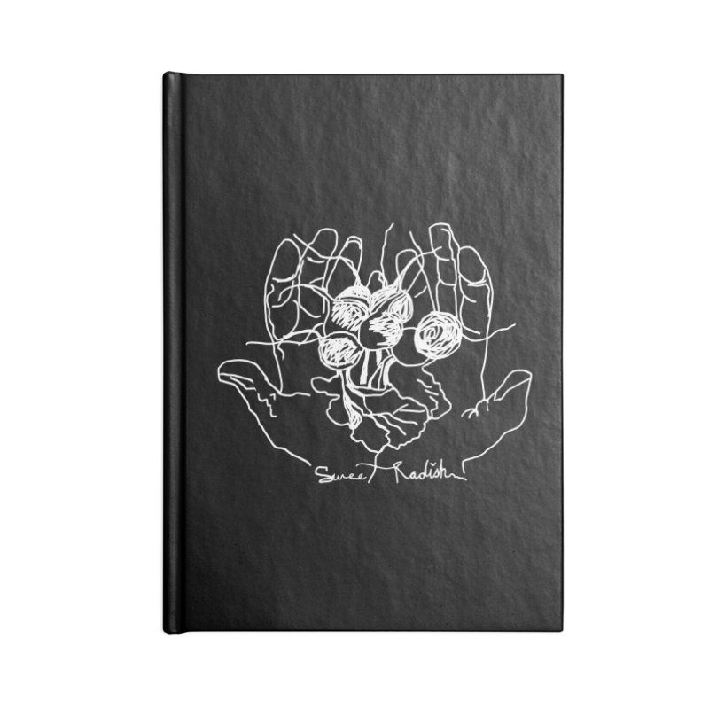 RADISH HANDS Accessories Blank Journal Notebook by jackrabbithollow's Artist Shop