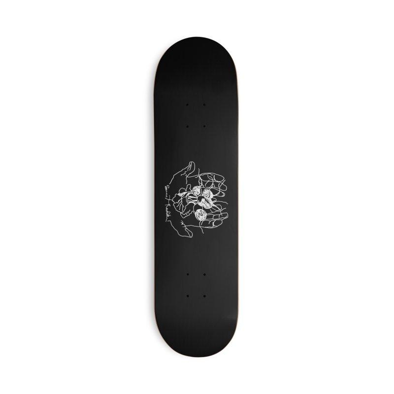 RADISH HANDS Accessories Skateboard by jackrabbithollow's Artist Shop