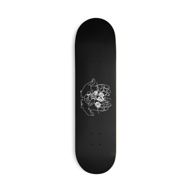 RADISH HANDS Accessories Deck Only Skateboard by jackrabbithollow's Artist Shop