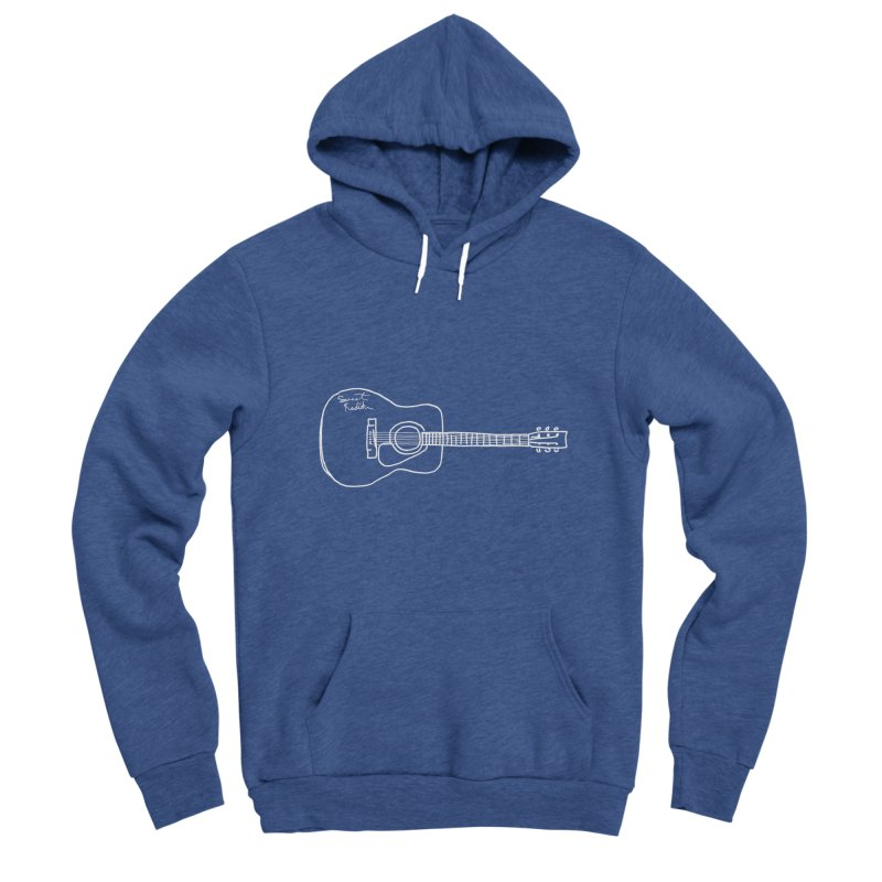 ABE'S GUITAR Men's Sponge Fleece Pullover Hoody by jackrabbithollow's Artist Shop