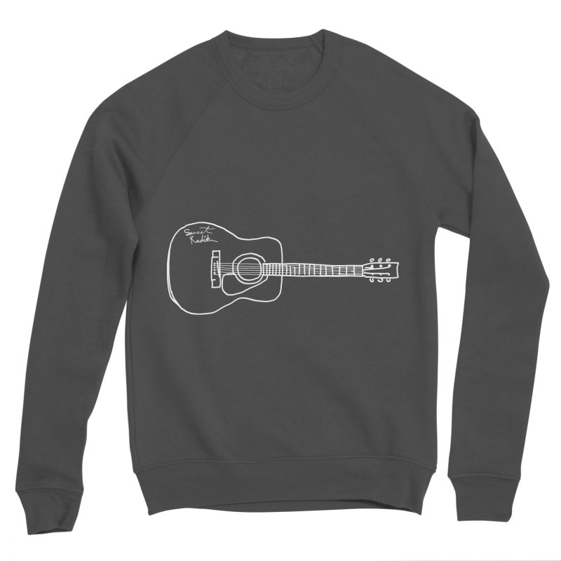 ABE'S GUITAR Men's Sponge Fleece Sweatshirt by jackrabbithollow's Artist Shop