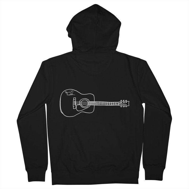 ABE'S GUITAR Men's French Terry Zip-Up Hoody by jackrabbithollow's Artist Shop