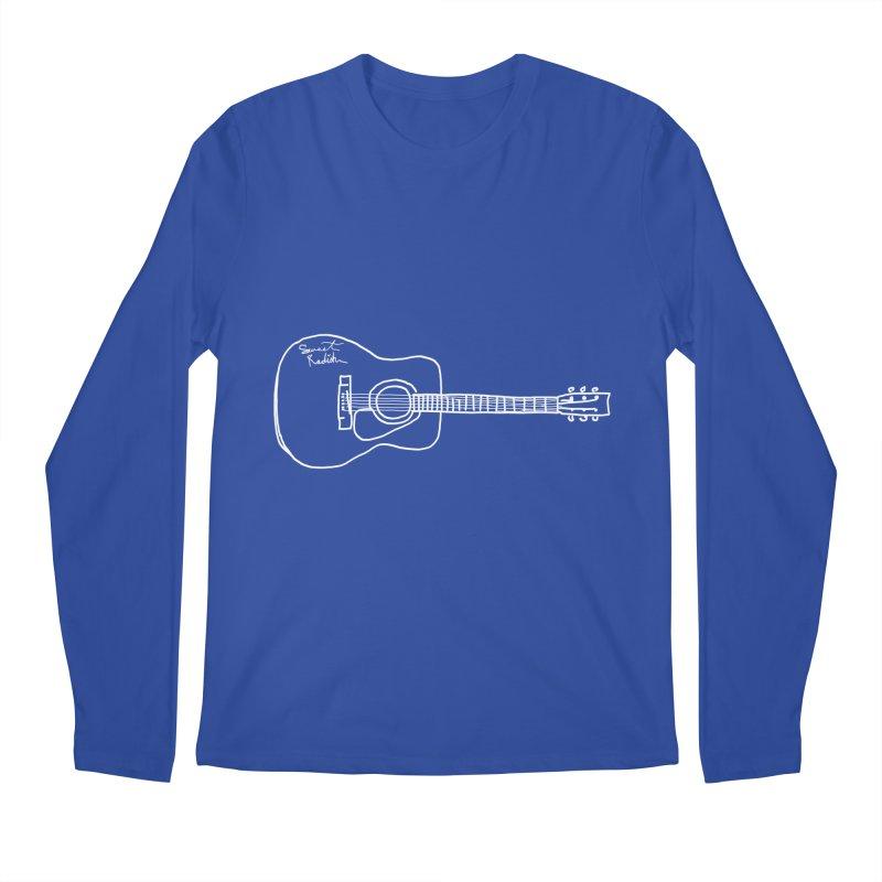 ABE'S GUITAR Men's Regular Longsleeve T-Shirt by jackrabbithollow's Artist Shop