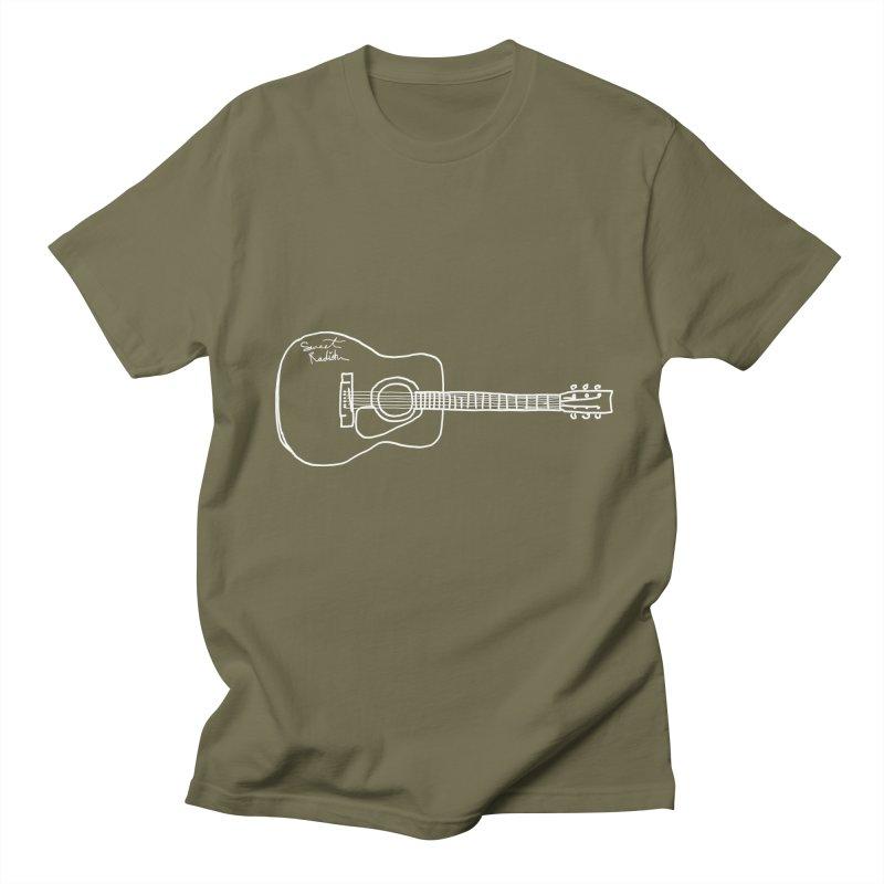 ABE'S GUITAR Men's Regular T-Shirt by jackrabbithollow's Artist Shop