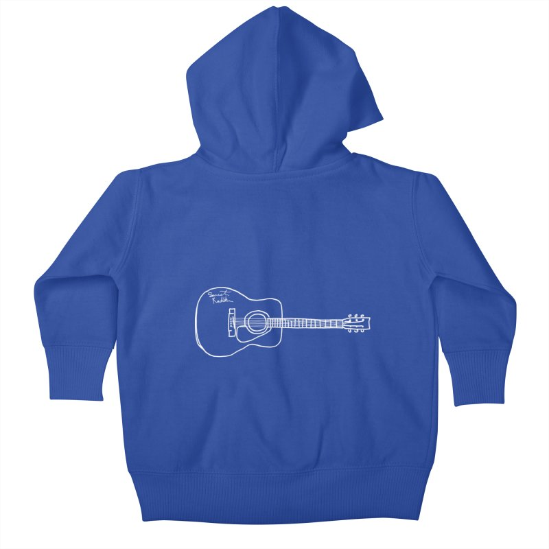 ABE'S GUITAR Kids Baby Zip-Up Hoody by jackrabbithollow's Artist Shop