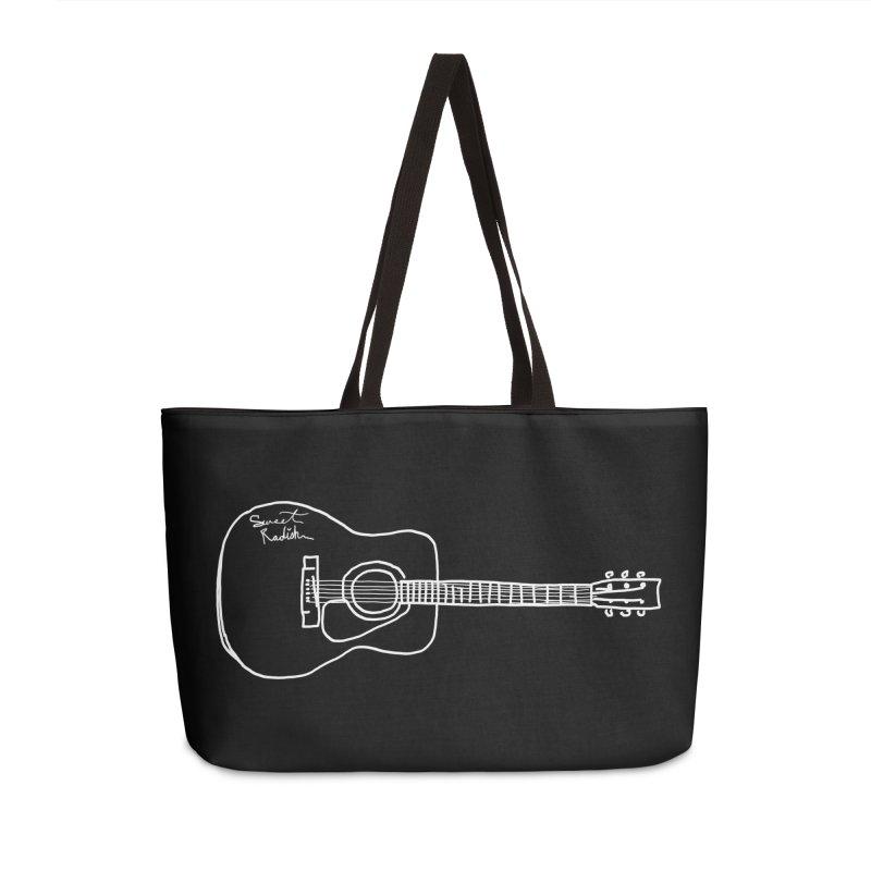 ABE'S GUITAR Accessories Weekender Bag Bag by jackrabbithollow's Artist Shop