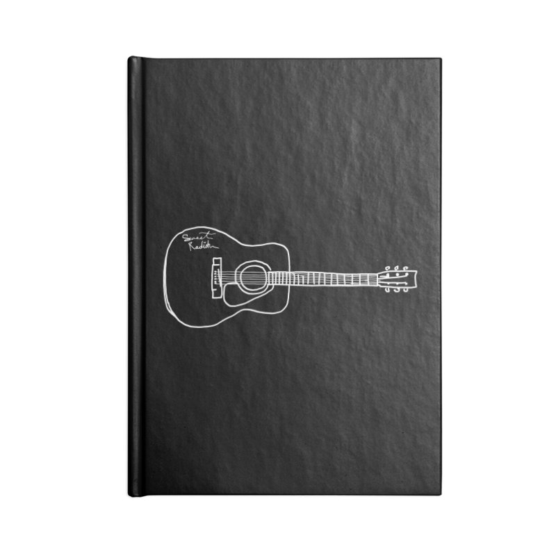 ABE'S GUITAR Accessories Notebook by jackrabbithollow's Artist Shop