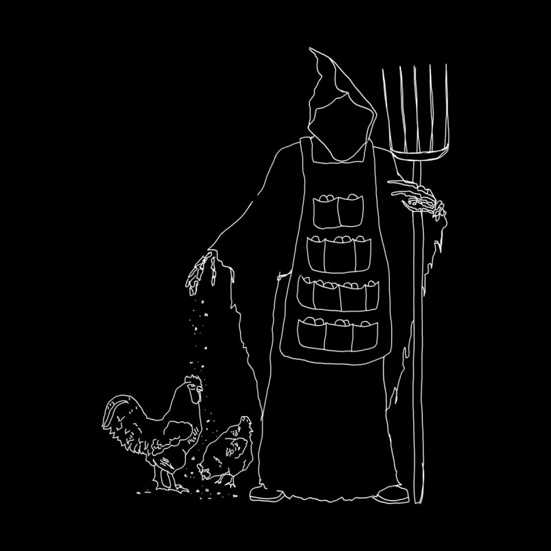Grim the Egg Dealer Kids T-Shirt by jackrabbithollow's Artist Shop