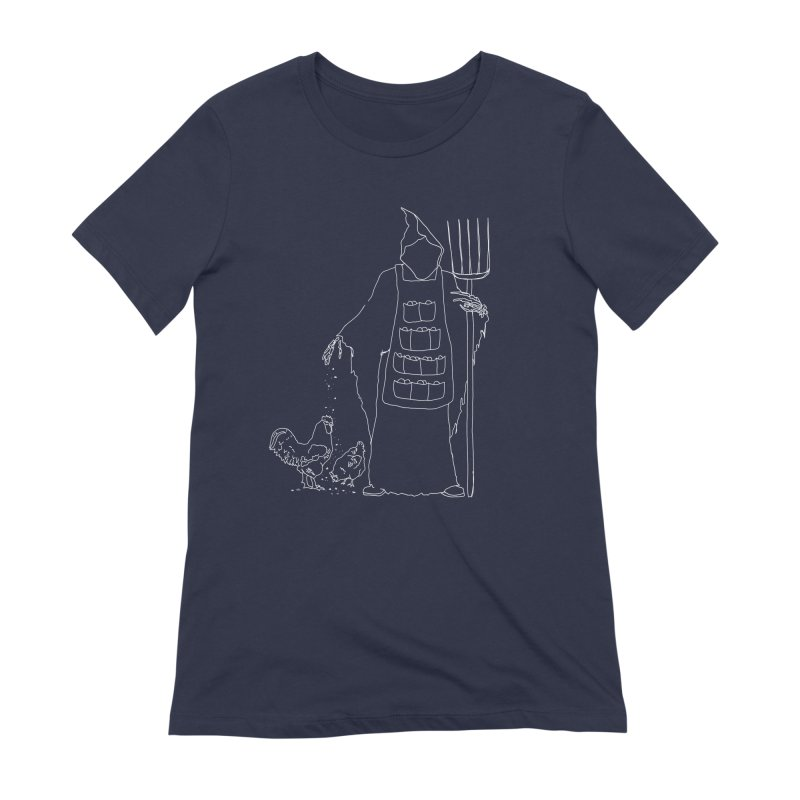 Grim the Egg Dealer Women's Extra Soft T-Shirt by jackrabbithollow's Artist Shop