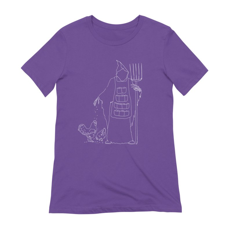 Grim the Egg Dealer Women's Extra Soft T-Shirt by jackrabbithollow's Artist Shop