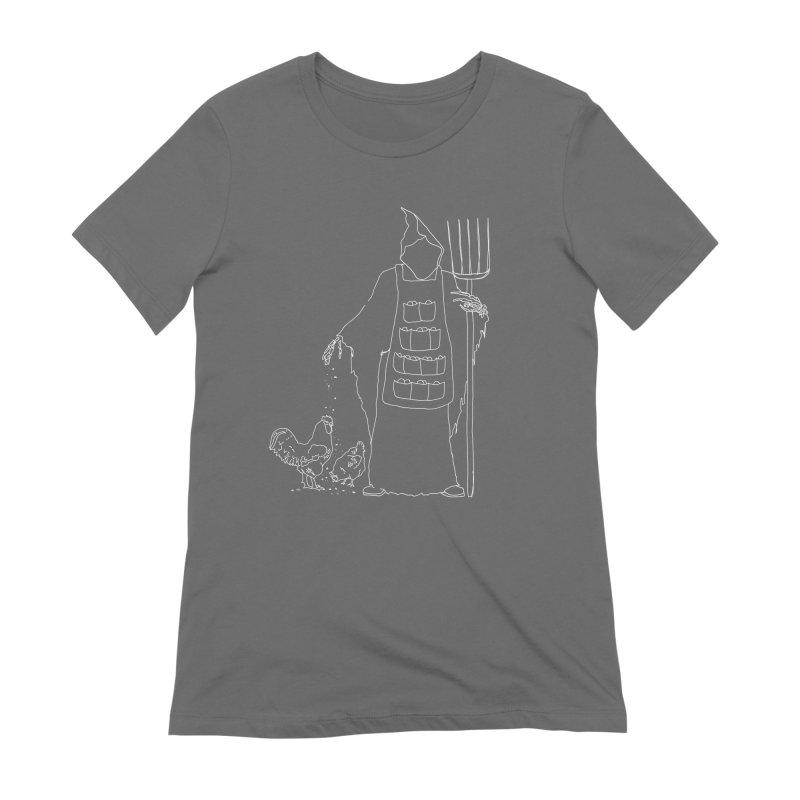 Grim the Egg Dealer Women's T-Shirt by jackrabbithollow's Artist Shop