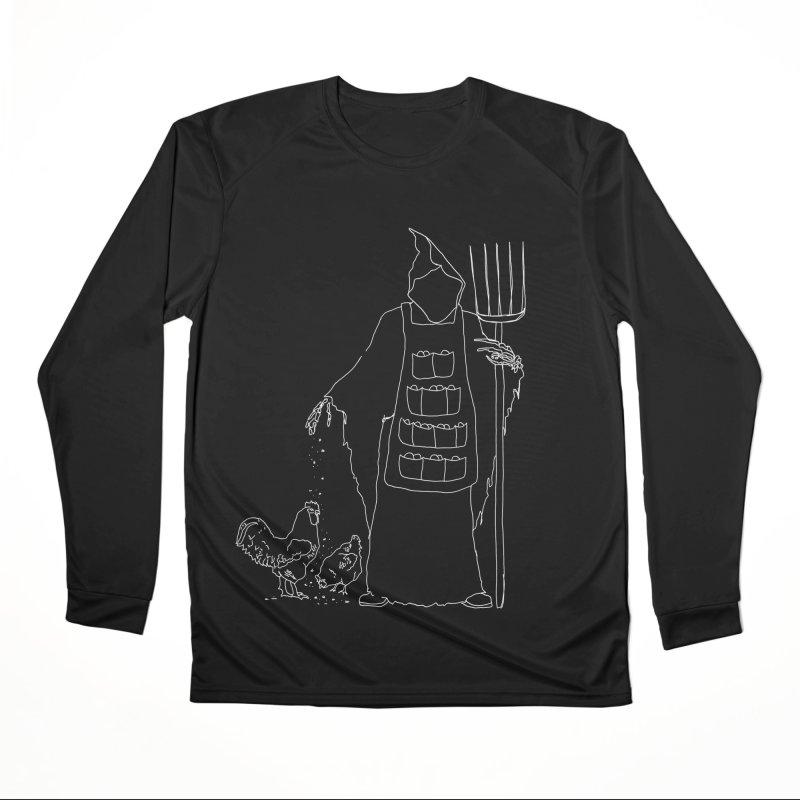Grim the Egg Dealer Men's Longsleeve T-Shirt by jackrabbithollow's Artist Shop
