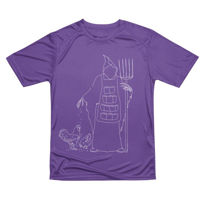 Grim the Egg Dealer Men's Performance T-Shirt by jackrabbithollow's Artist Shop