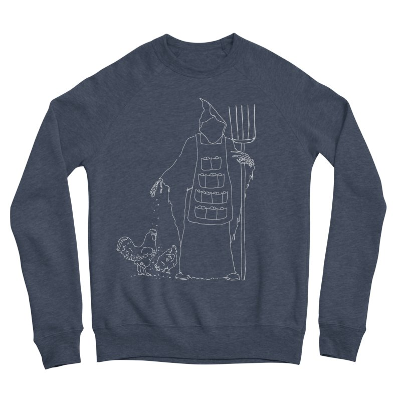Grim the Egg Dealer Women's Sponge Fleece Sweatshirt by jackrabbithollow's Artist Shop