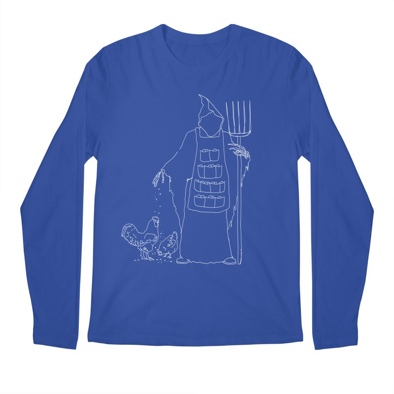 Grim the Egg Dealer Men's Regular Longsleeve T-Shirt by jackrabbithollow's Artist Shop