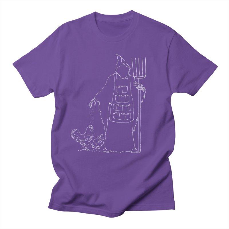 Grim the Egg Dealer Men's Regular T-Shirt by jackrabbithollow's Artist Shop