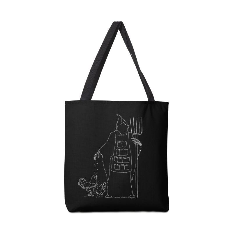 Grim the Egg Dealer Accessories Tote Bag Bag by jackrabbithollow's Artist Shop