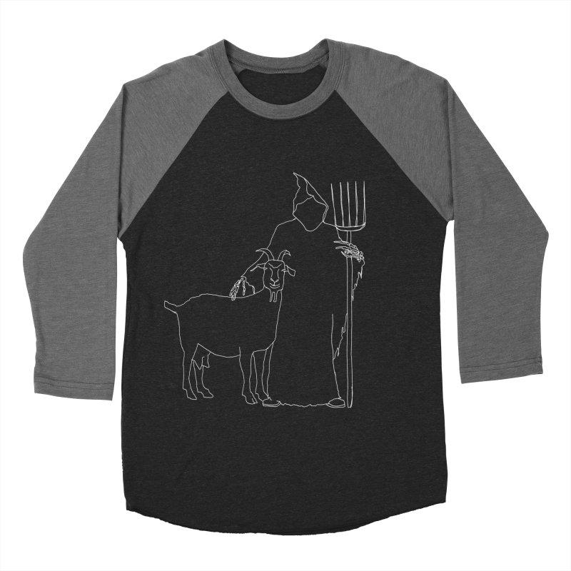 Grim the Farmer & Goat Enthusiast Women's Longsleeve T-Shirt by jackrabbithollow's Artist Shop