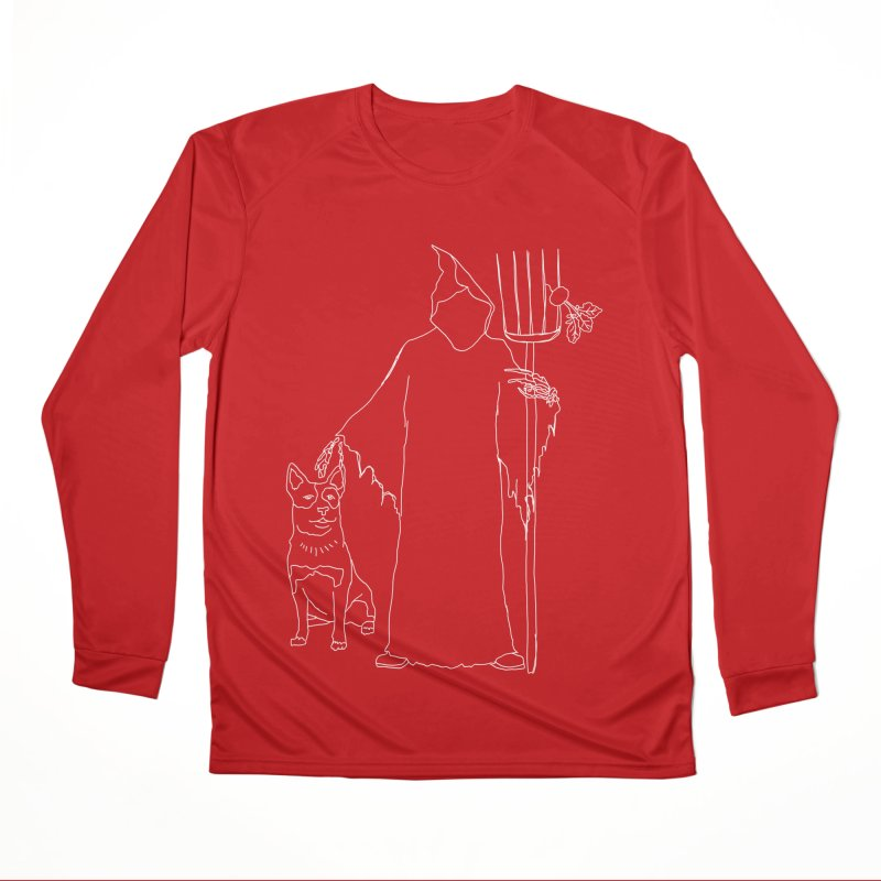 Grim the Farmer and Bestie Men's Performance Longsleeve T-Shirt by jackrabbithollow's Artist Shop