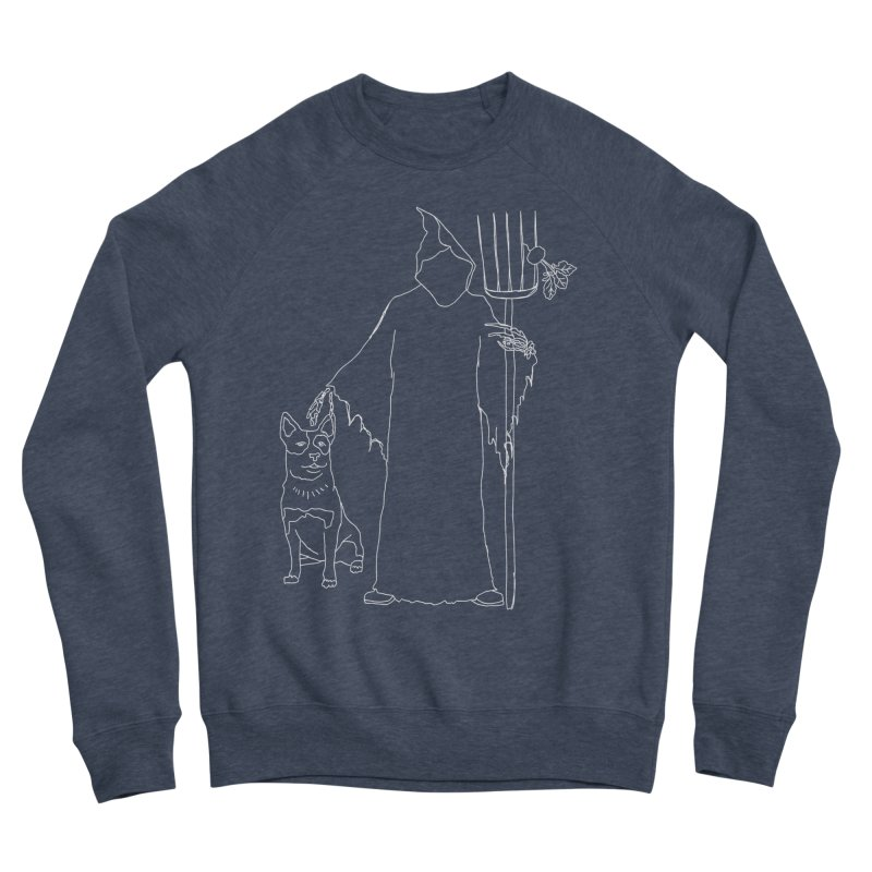 Grim the Farmer and Bestie Men's Sponge Fleece Sweatshirt by jackrabbithollow's Artist Shop