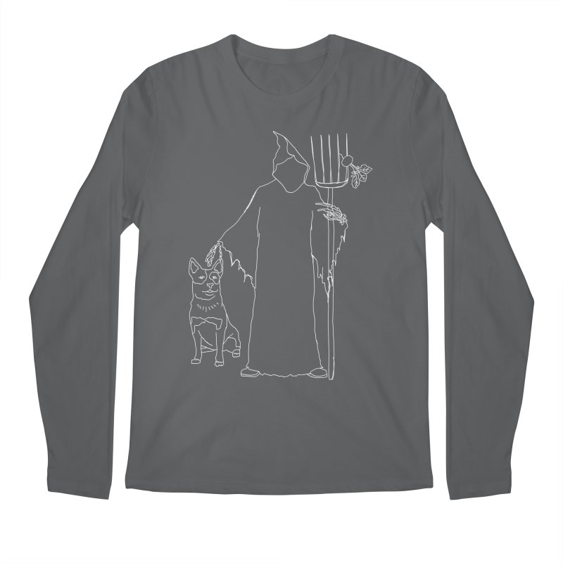 Grim the Farmer and Bestie Men's Longsleeve T-Shirt by jackrabbithollow's Artist Shop