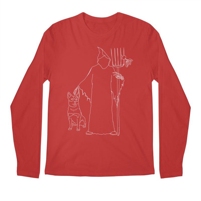 Grim the Farmer and Bestie Men's Regular Longsleeve T-Shirt by jackrabbithollow's Artist Shop
