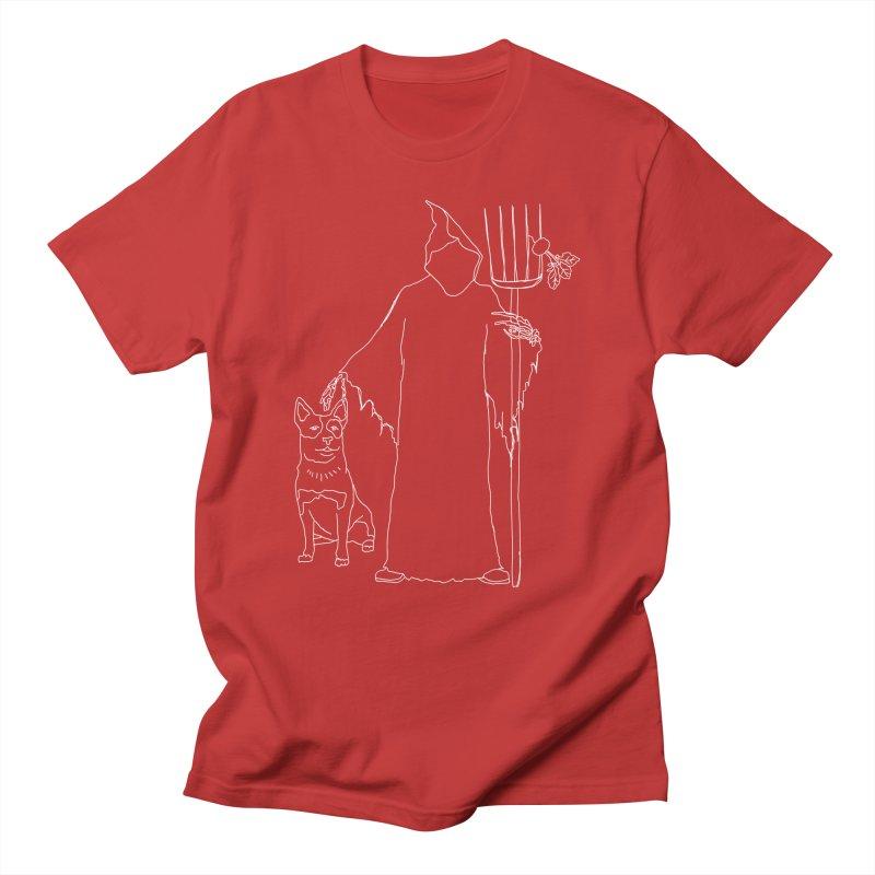 Grim the Farmer and Bestie Women's Regular Unisex T-Shirt by jackrabbithollow's Artist Shop